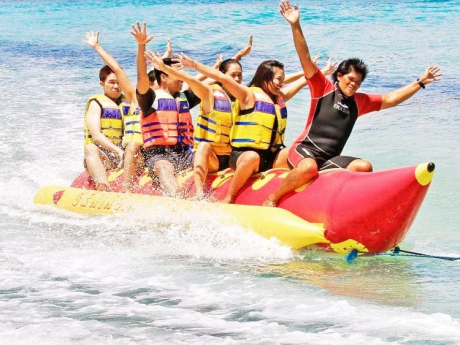 Image result for banana boat boracay no copyright